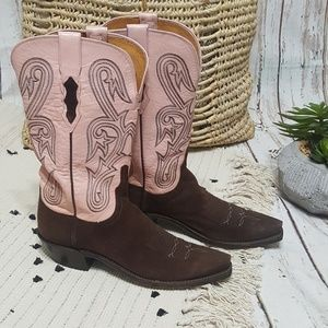 Lucchese 1883 Women's Cowboy Boots Size 8.5 EUC